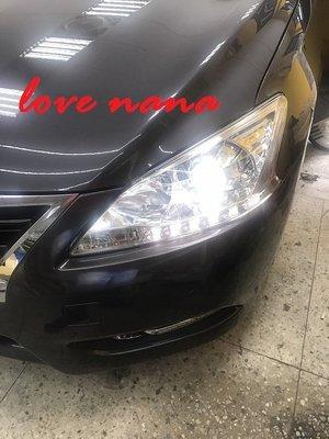 [[娜娜汽車]] 日產 NEW SUPER SENTRA aero專用 魚眼大燈 原廠款魚眼
