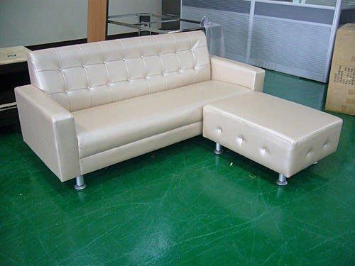 樂居二手家具館 全新鑲鑽L型皮沙發 乳膠皮沙發 庫存沙發 客廳桌椅 家具拍賣電視櫃 茶几