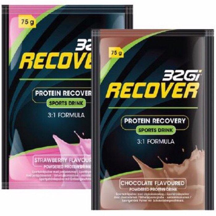 騎跑泳者 - 32Gi 蛋白運動能量飲 75克 (2種口味任選) 含豐富的BCAA,全素可食,原產地:南非