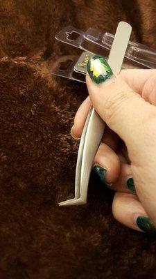 【美睫娜娜】接睫毛專用 瑞士 VETUS 超精密 拐杖夾 6A-SA 6asa 開花夾 3D 6D 9D 專用
