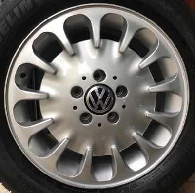 賓士 原廠16吋鋁圈含胎 福斯 VW T4 VR6 Passat Caddy Touran Golf Tiguan