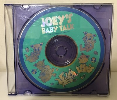 寰宇迪士尼美語 Joey's Baby Talk CD一片  寰宇家庭Disney's World of English