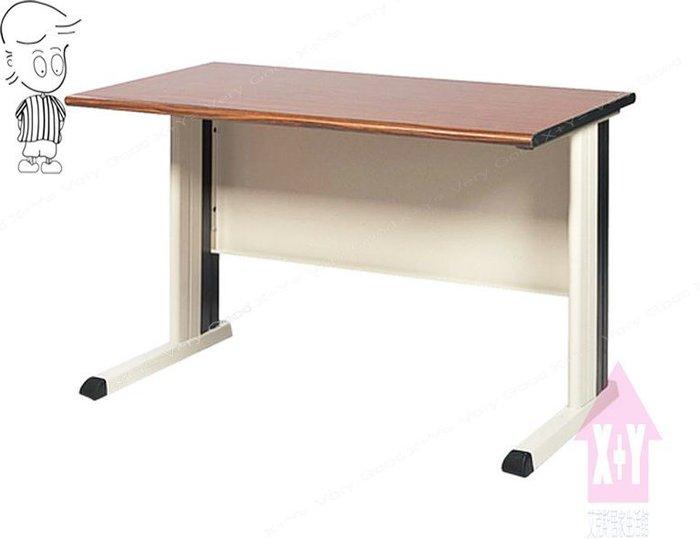 【X+Y時尚精品傢俱】OA辦公桌系列- 胡桃檯面KD-100(黑)辦公桌空桌.職員桌.台南市OA辦公家具