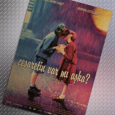 【貼貼屋】兩小無猜 懷舊復古 牛皮紙 海報 壁貼 店面裝飾 經典 電影海報 229