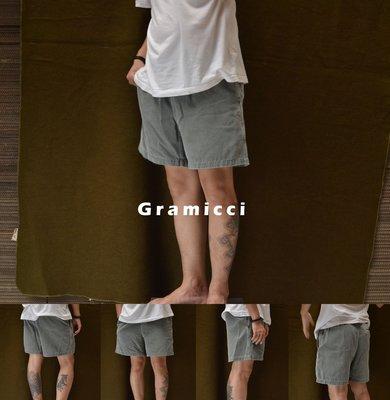 Gramicci Washed Work Shorts 灰 美國製 W28~32小野人 伸縮 腰帶 短褲 膝上褲 戶外