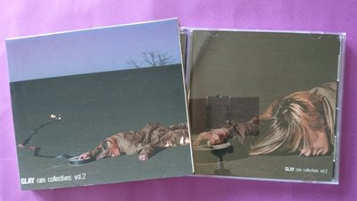 【鳳姐嚴選二手唱片】 GLAY / RARE COLLECTIVES VOL.2 (紙品包裝/雙CD)