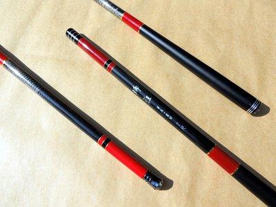 大師作品 狂銷日本一級超短手製蝦竿 高含量碳纖維 .CARBON 超輕細蝦竿 鯽狂 系列蝦竿 6尺 超短收納35cm