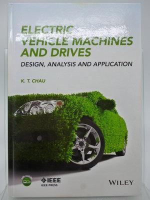 【月界2】Electric Vehicle Machines and Drives_K. T. Chau 〖科學〗AGC