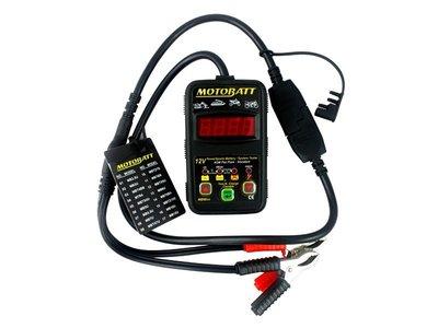 《達克冷光》MOTOBATT 專業型電池測試器-MB-MINI