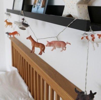 [SECOND LOOK]英國雜貨 8個農場小動物 小夜燈