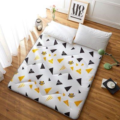 娜個小屋加厚榻榻米床墊子軟墊學生宿舍0.9m1.2米單雙人床褥墊被家用睡墊選項不同 價格不同