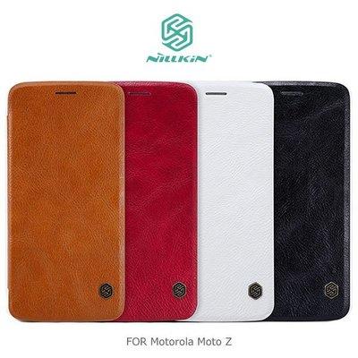*PHONE寶*NILLKIN Motorola Moto Z 秦系列皮套 插卡 側翻皮套 保護殼 手機套