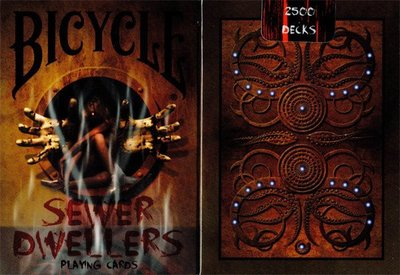 【USPCC 撲克】Bicycle Sewer Dwellers playing cards