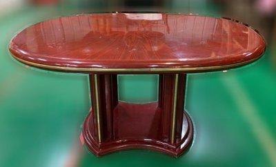 樂居二手家具(中)台中西屯二手傢俱買賣推薦 E120705*紅木色餐桌*2手桌椅拍賣 會議桌椅 戶外休閒桌椅 課桌椅