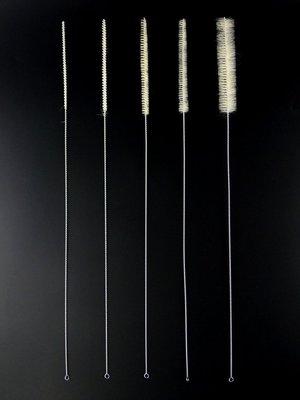 ◇GIDI 儀器◇ 吸管刷5ml 長度450mm,另售試管刷 滴定管刷 移液管刷 量管刷 不銹鋼吸管刷 毛刷 寬口瓶刷