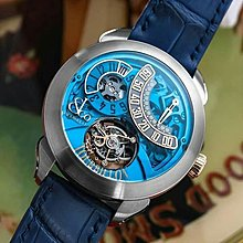 Jacob & Co. 捷克豹 Palatial Flying Tourbillon Jumping Hour Blue PT510.24.NS.PB.A