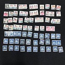 美國郵票 蓋銷票 (4)一組如相