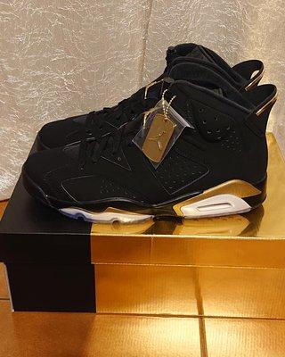 Nike Air Jordan 6 AJ6 DMP 黑金 冠軍