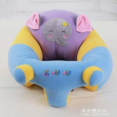 寶寶坐椅嬰兒學坐小沙發椅兒童防摔學座訓練椅帶娃神器新生兒餐椅