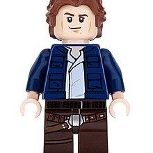 Lego Star Wars Han Solo (Young) 人仔1隻 全新  連槍 (75192)