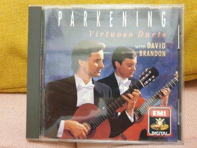 Virtuoso Duets with DAVID BRANDON 古典雙吉他銘盤 1990年美版 JVC