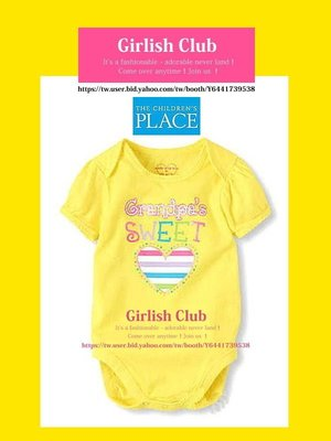 【Girlish Club】the children's place女寶寶9-12m包屁衣連身衣(c308)二七一元起標
