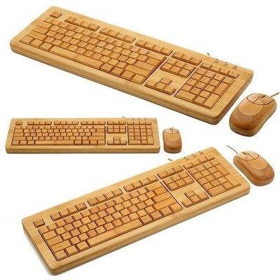 竹鍵盤,竹滑鼠,電腦鍵盤滑鼠組,光學滑...