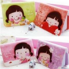 韓版可愛女孩悠遊卡信用卡金融卡包(12卡)-艾發現