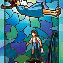日本正版拼圖 吉卜力 宮崎駿 天空之城 希達 巴魯 208片透明塑膠拼圖,208-AC12