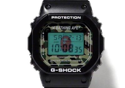 全新 A BATHING APE x G-SHOCK DW-6900 BAPE 聯名 白 夜光 手錶