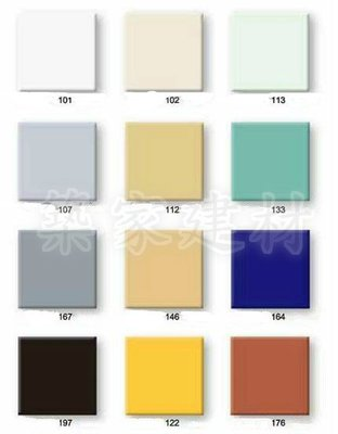 【AT磁磚店鋪】進口方塊磚 彩虹色磚 亮面磚 鄉村風 時尚復古磚 10*10 10X10
