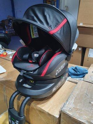 出清 日本品牌 AILEBEBE Kurt KURTTO 3i Glance 2  兒童 安全座椅  360度  遮陽篷