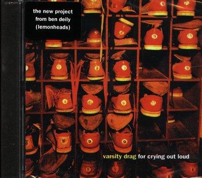 八八 - Varsity Drag - For Crying Out Loud - CD - NEW