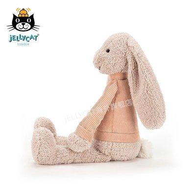 毛絨玩具jellycat英國年新品Jumble Bunny暖心兔子可愛毛絨玩具玩具