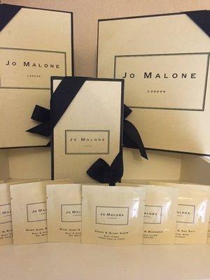 Jo Malone 7ml 沐浴露 沐浴油/泡澡油 試用包 杏桃花蜂蜜/青檸羅勒/英國梨/黑莓/牡丹/海鹽鼠尾草