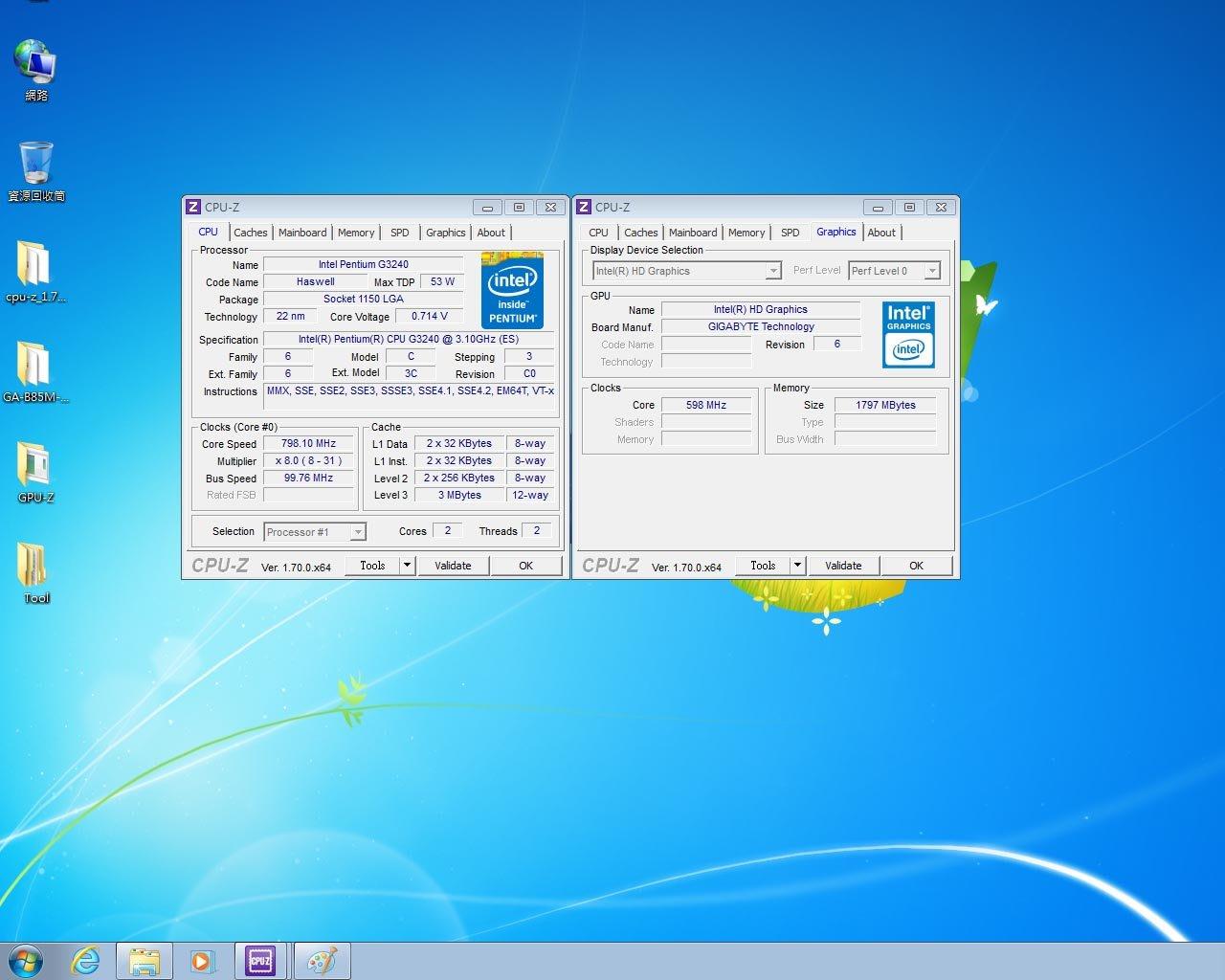 G3240 CPU (1150腳位)