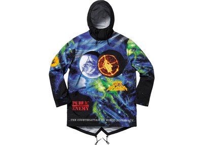 「Rush Kingdom」Supreme UNDERCOVER/Public Enemy Parka 外套