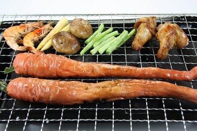 【中秋烤肉食材】來點不一樣的~烤脆皮肥腸(有包蔥段.5條)/約600g±5%/包