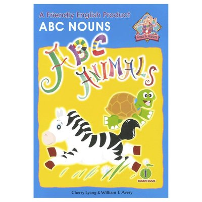 Bobo English learning for kids-Book 1(ABC Nouns) 兒童幼兒美語教材 課本