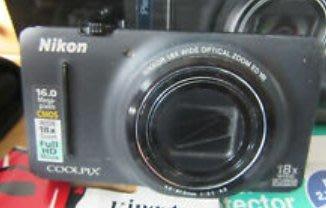 二手 NIKON S9200 數位相機 二手保固七日 正常品預購品 取代s9500