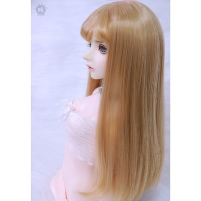 【此為售賣假髮,幾分娃用請告知】bjd假發3 4 6分巨嬰sd人偶女娃二八分劉海長頭發蘿莉假毛