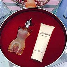 Jean Paul Gaultier高緹耶裸女經典香水2件套裝(香水EDT 50ml+身體乳75ml)