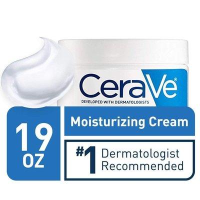 Cerave 2020年1月已到台 全新款1罐 美國原廠  玻尿酸 潤澤 超保濕乳霜 Cream 19 oz(539g)