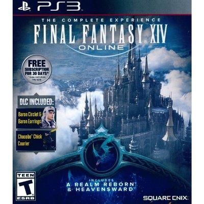 (現貨全新)PS3 太空戰士14 新生艾奧傑亞+蒼天的伊修加爾德 英文美版 附DLC FINAL FANTASY XIV