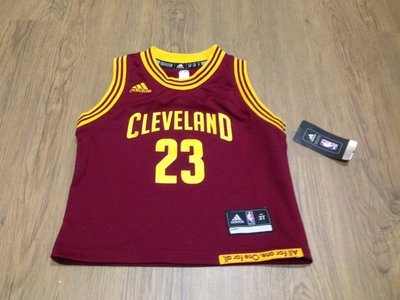 Cleveland Cavaliers LeBron James Toddler Jersey 3T