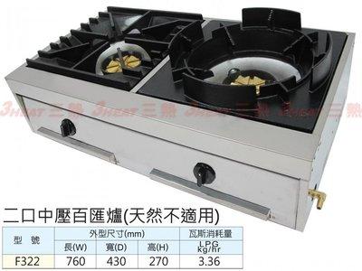 一鑫餐具【2口中壓百匯爐】單口爐快速爐西餐爐