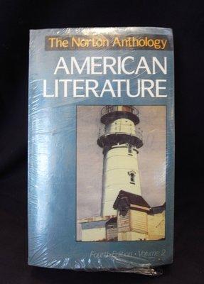 *阿威的舊書香*【全新特價 The Norton Anthology of AMERICAN LITERATURE】