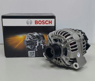 BENZ W140 M104 120A 93-98 發電機 6溝 BOSCH製.整顆全新進口) 0124515190