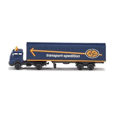 傑仲(有發票) 博蘭 公司貨 WIKING Container tractor trailer  095003 N