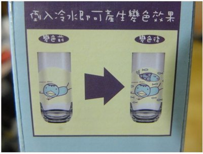 全家 玩一夏 阿朗基變色玻璃杯370ml/河童軍 ~ 現貨